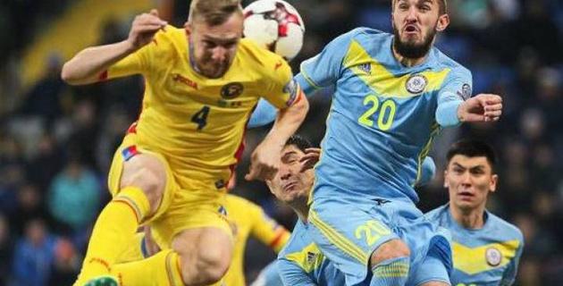 Букмекеры назвали наиболее вероятный счет матча Румыния - Казахстан в отборе на ЧМ-2018