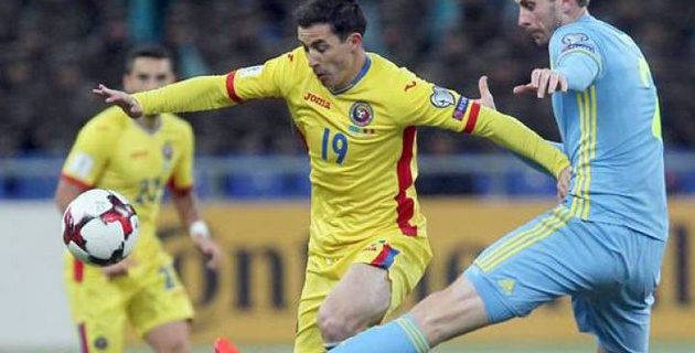 Прямая трансляция матча отбора на ЧМ-2018 Румыния - Казахстан