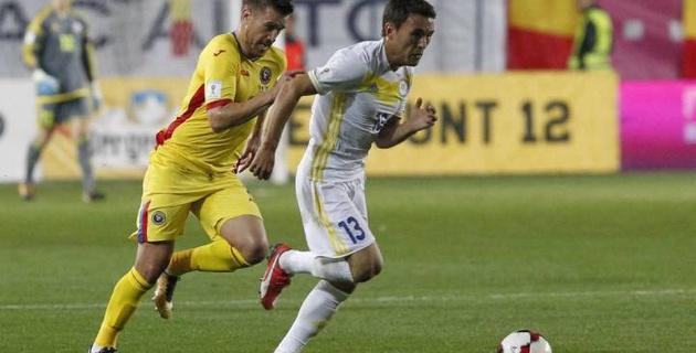 Сборная Казахстана по футболу заняла последнее место в группе отбора ЧМ-2018