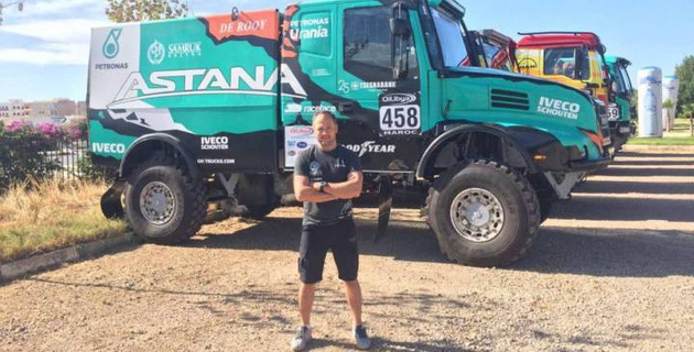 Команда Astana Motorsports стартовала на ралли в Марокко