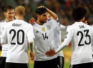 Сборная Германии по футболу впервые выиграла все матчи в отборочном турнире ЧМ
