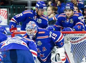 СКА потерпел первое поражение в сезоне и прервал рекордную победную серию в КХЛ