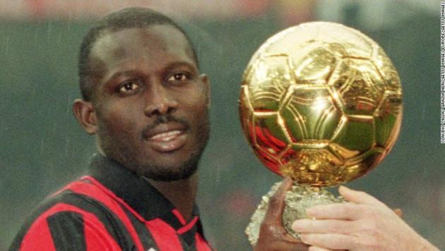 """Обладатель """"Золотого мяча""""-1995 избран президентом Либерии"""