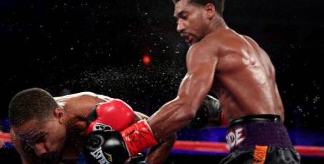 Бросивший вызов Головкину непобежденный американский боксер успешно дебютировал в среднем весе