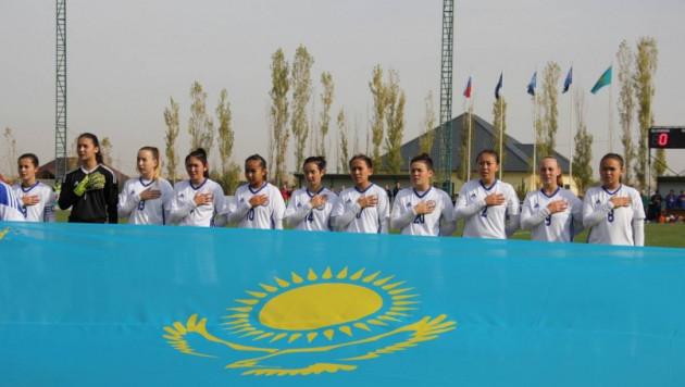 Сборная Казахстана среди девушек до 19 лет с общим счетом 0:19 проиграла три матча в квалификации Евро