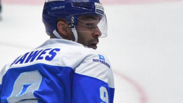 Найджел Доус достиг отметки в 350 очков в КХЛ
