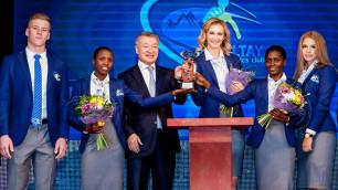 В Усть-Каменогорске презентован первый в Казахстане профессиональный клуб легкой атлетики