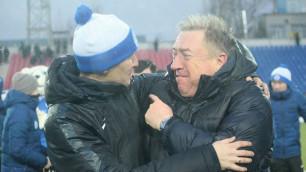 """Тренер """"Иртыша"""" эмоционально отпраздновал в раздевалке выход в Лигу Европы"""