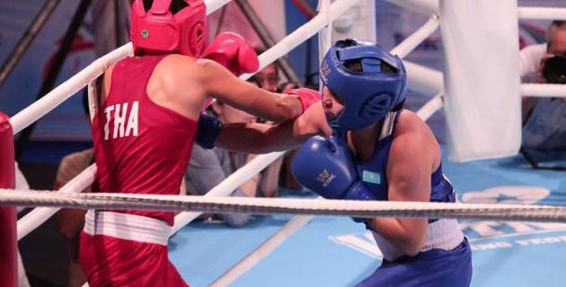Казахстанка стала чемпионкой Азии-2017 по боксу