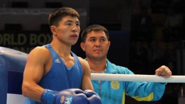 Берик Абдрахманов победил серебряного призера ЧА в финале чемпионата Казахстана по боксу