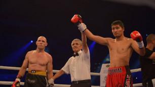 Казахстанский боксер-профессионал рассказал о подготовке к бою с небитым американцем в Madison Square Garden