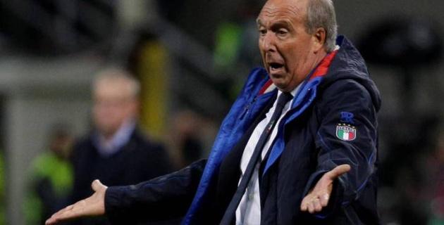 Главный тренер сборной Италии уволен после непопадания на ЧМ-2018