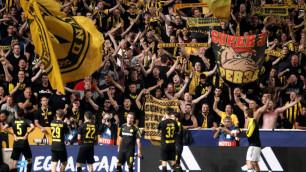 УЕФА оштрафовал три клуба за поведение фанатов на матчах Лиги чемпионов