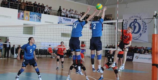 В Талдыкоргане состоится первый тур чемпионата Казахстана по волейболу среди мужских команд Высшей лиги