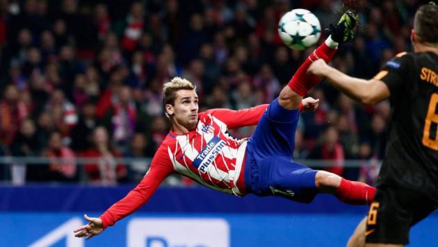 Боковые ножницы Гризманна и еще четыре претендента на лучший гол недели в Лиге чемпионов