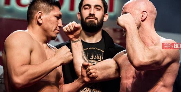 Прямая трансляция боя Куат Хамитов - Питер Куилли и других поединков турнира Fight Nights Global 80