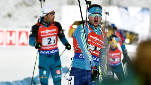 Казахстанские биатлонисты сенсационно выиграли бронзовую медаль на первом этапе Кубка мира