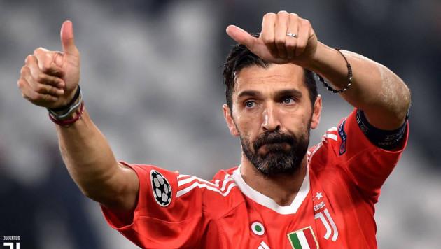 Джанлуиджи Буффон признан лучшим игроком Италии по итогам 2017 года
