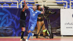 Дубль Есенаманова позволил сборной Казахстана по футзалу сыграть вничью с Россией