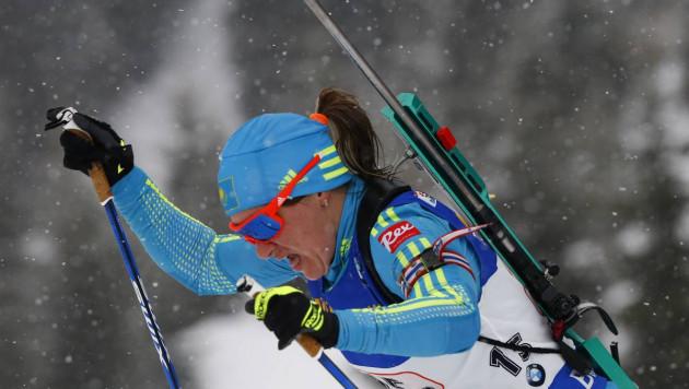 Казахстанка Вишневская стала 11-й в общем зачете Кубка мира по биатлону по итогам первого этапа