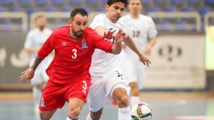 Сборная Казахстана по футзалу на последней минуте упустила победу над командой Алесио