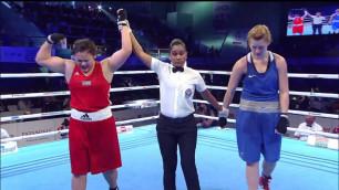 Стараюсь подражать Майку Тайсону - чемпионка мира по боксу из Казахстана