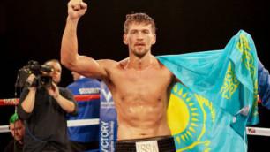 Непобежденный казахстанский тяжеловес проведет титульный бой в декабре