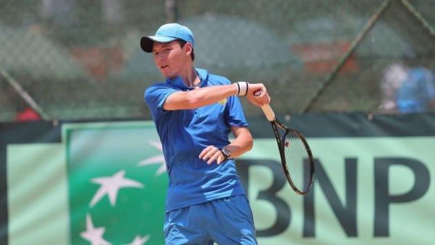 Казахстанский теннисист обеспечил себе место в ТОП-50 мирового рейтинга среди юниоров
