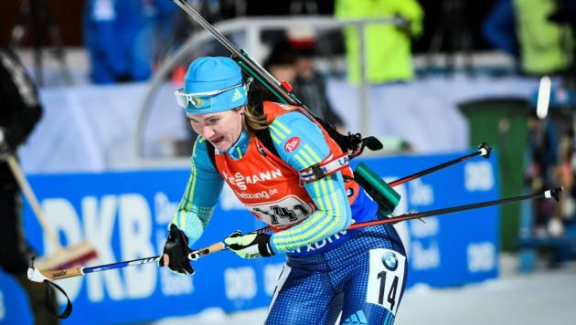 Женская сборная Казахстана остановилась в шаге от ТОП-10 в эстафете на этапе Кубка мира по биатлону