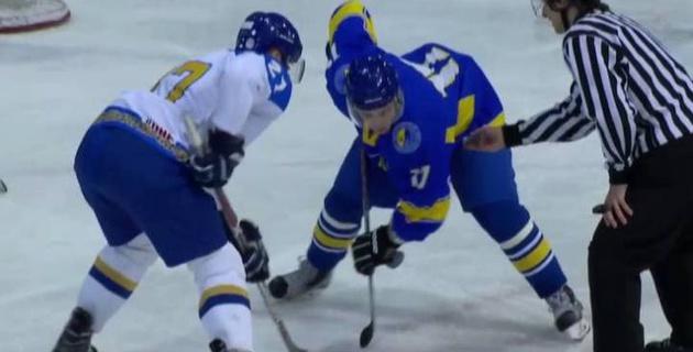 Сборная Казахстана по хоккею разгромила Украину в товарищеском матче