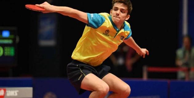 Казахстанец Герасименко проиграл 14-летнему вундеркинду в 1/8 финала Гранд-финала Мировой серии в Астане
