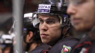 Попадавшийся на допинге экс-нападающий пяти команд КХЛ перешел в казахстанский клуб