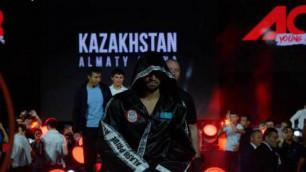 Видео полного боя, в котором казахстанец Оспанов, по мнению судей, проиграл на турнире ACB в Москве