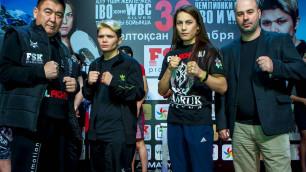 Прямая трансляция боев вечера бокса Фируза Шарипова - Джемилла Гонтарюк