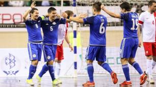 Сборная Казахстана по футзалу завершила 2017 год на девятом месте в мировом рейтинге