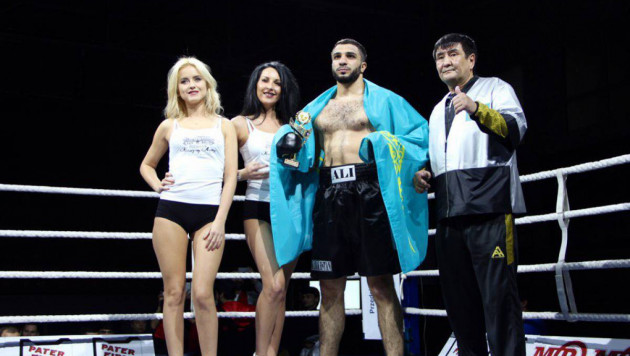 Казахстанский тяжеловес Балоев прокомментировал свою третью досрочную победу в профи