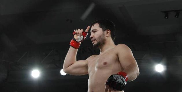 Казахстанский боец Мамедов за 34 секунды одержал победу в первом бою после перерыва в два года