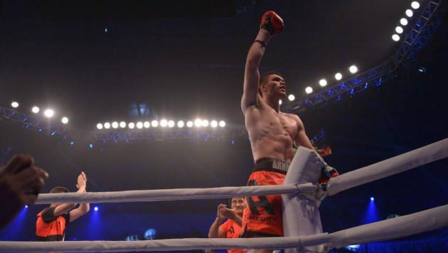 Казахстанец Али Ахмедов одержал восьмую досрочную победу в карьере
