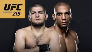 Прямая трансляция боя Хабиб Нурмагомедов - Эдсон Барбоза и других поединков UFC 219