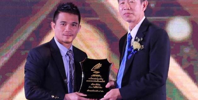 Обидчик Гонсалеса признан лучшим профессиональным атлетом в Таиланде по итогам 2017 года
