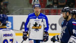 """Ходят слухи, что казахстанские хоккеисты позволили себе лишнего перед матчем с корейцами - игрок """"Анян Халла"""""""