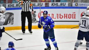 """Доус и Рыспаев вошли в состав """"Барыса"""" на первый матч после отставки Корешкова"""