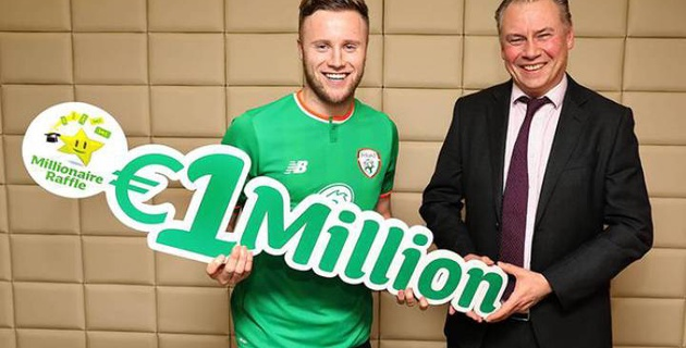 Футболист английского клуба выиграл миллион евро в лотерее