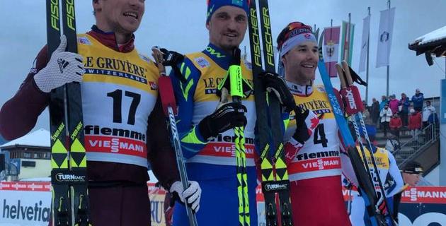 """""""*** (блин), говорите слишком быстро"""". Полторанин дал эпичное интервью после победы в масс-старте на этапе """"Тур де Ски"""" в Италии"""