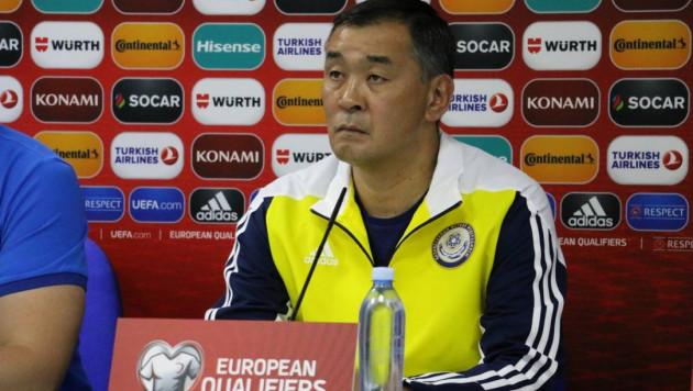Талгат Байсуфинов назначен старшим тренером молодежной сборной Казахстана по футболу