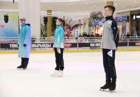В Астане презентовали форму сборной Казахстана на зимней Олимпиаде-2018