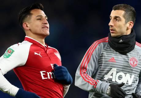"""""""Арсенал"""" и """"Манчестер Юнайтед"""" ведут переговоры об обмене Алексиса Санчеса на Генриха Мхитаряна"""