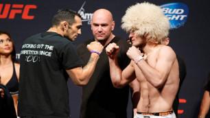 Президент UFC объявил дату титульного боя между Нурмагомедовым и Фергюсоном