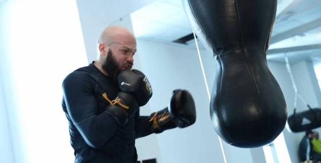 Фоторепортаж с тренировок сборной Казахстана по боксу в Академии AIBA