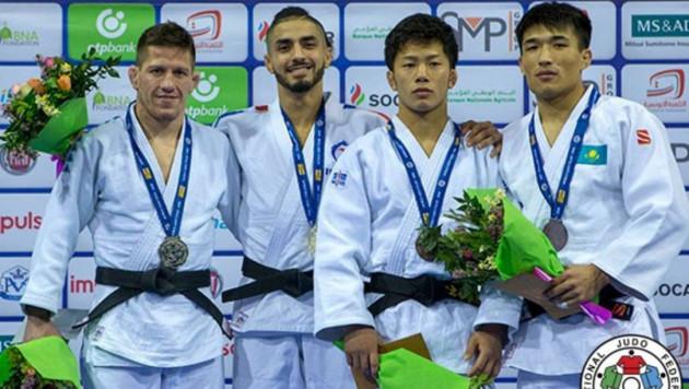 Казахстанские дзюдоисты Кыргызбаев и Серикжанов стали бронзовыми призерами этапа Гран-при в Тунисе